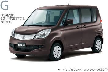 New Suzuki Solio