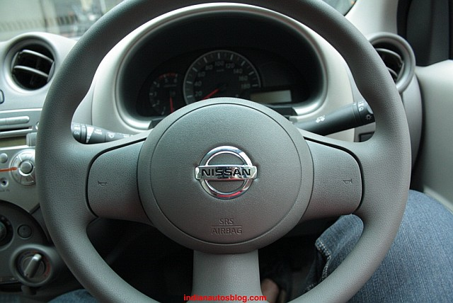 Nissan Micra steering wheel