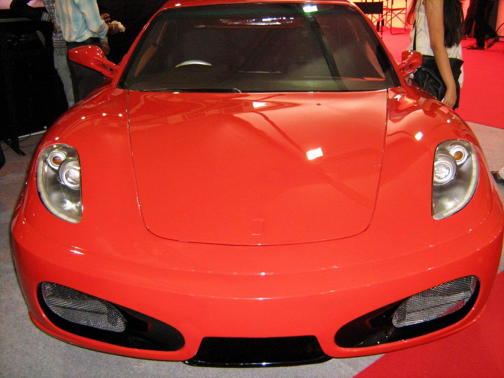 Toyota Corolla Ferrari F430 Replica