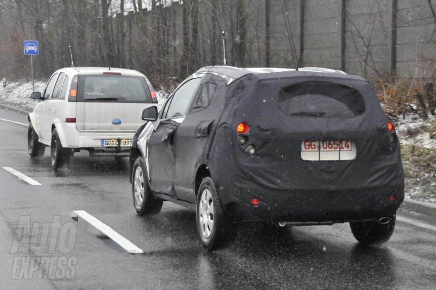 Chevrolet Sonic SUV REAR