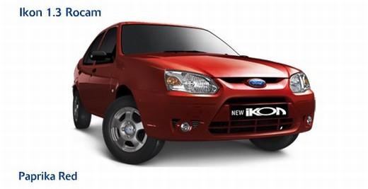 Ford Ikon Papriika Red