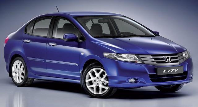 Honda City Blue