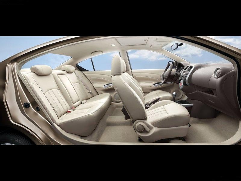 Nissan Sunny India interiors