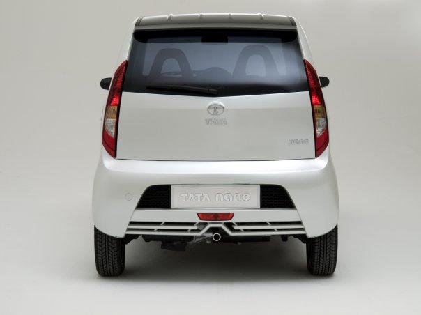 Tata Nano luxury rear