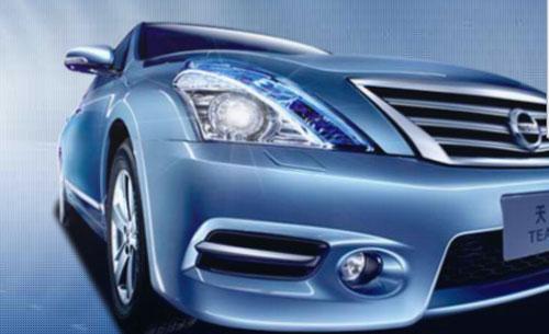 2011 Nissan Teana headlamp