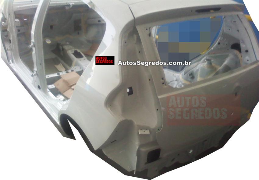 2012 Fiat Palio body shell rear