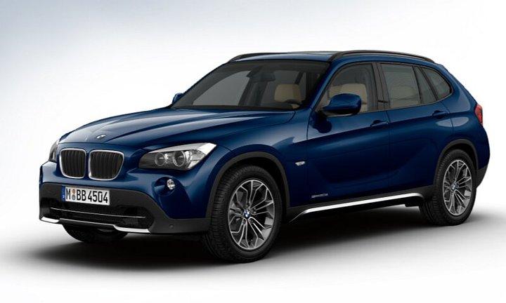 BMW X1 Blue