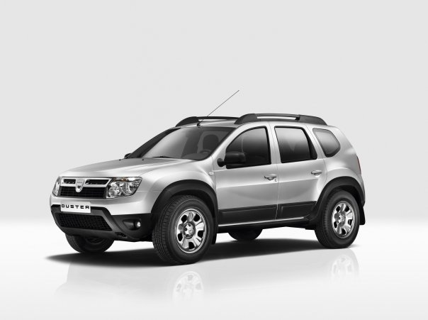 Dacia Duster front left