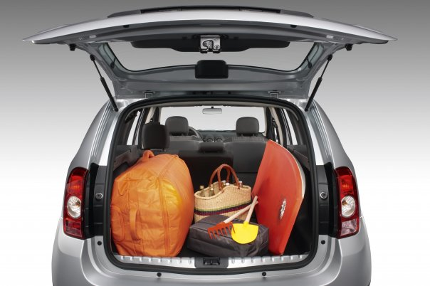Dacia Duster luggage
