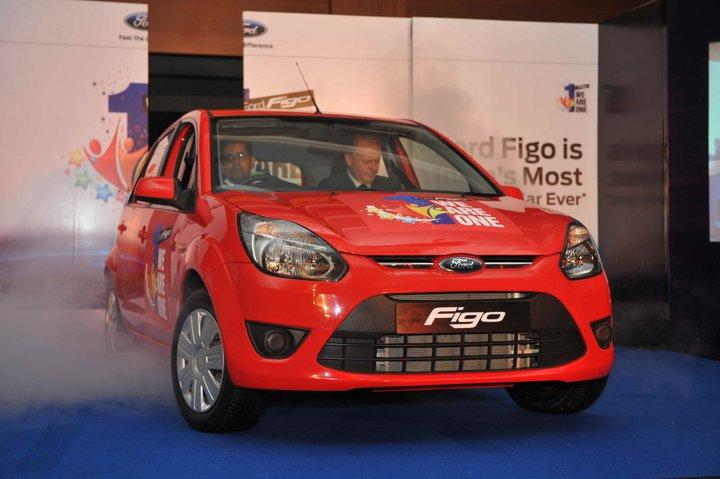 Ford Figo one year celebrations