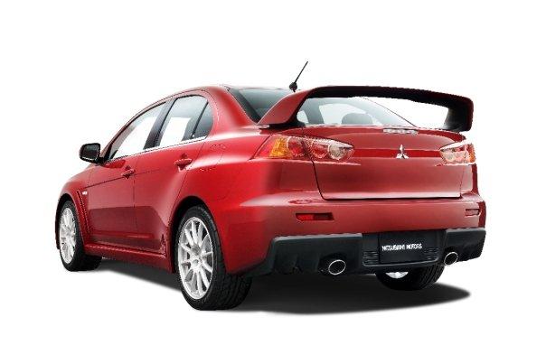 Mitsubishi Evolution X rear