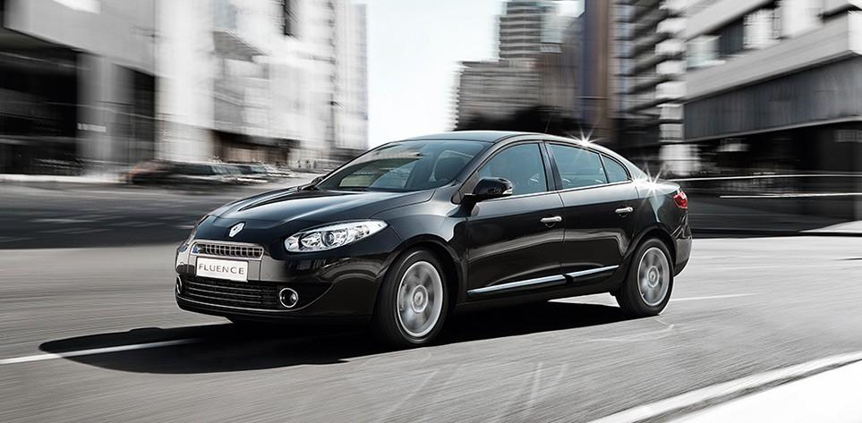 Renault Fluence India