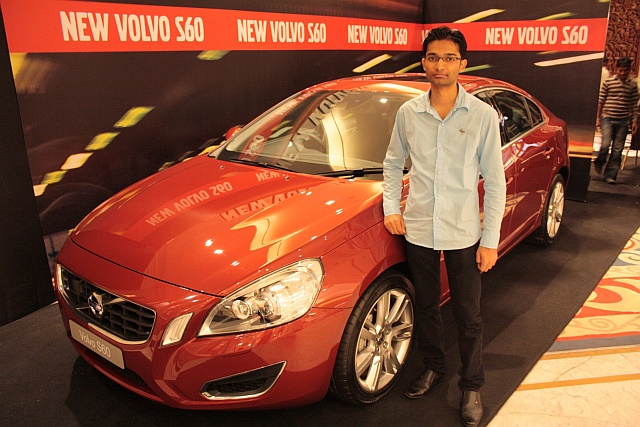 Shoeb with Volvo S60