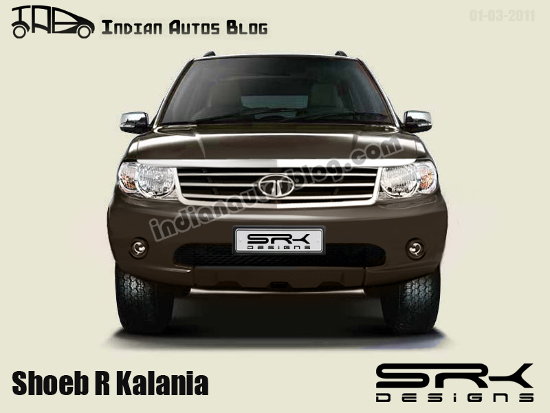 Tata Safari Merlin front