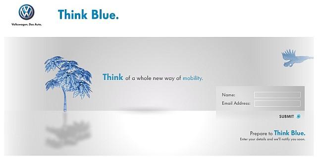 VW Passat Think Blue