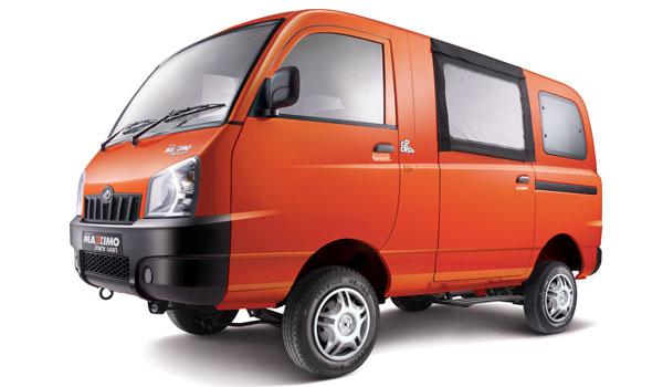 Mahindra Maxximo Mini Van front right