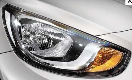 New Hyundai Verna headlamp