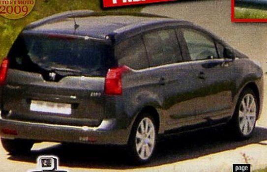 Peugeot 3009 rear