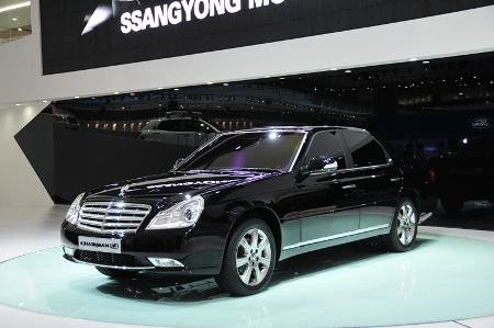 SsangYong Chaiman H front right