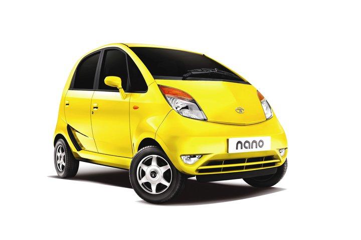 Tata Nano LX yellow