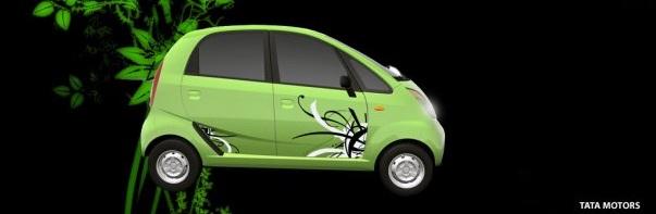 Tata Nano green