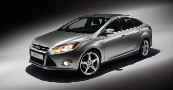 new Ford Focus silver