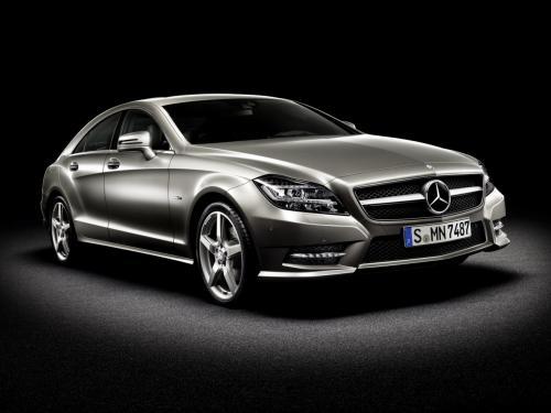 new Mercedes Benz CLS Class
