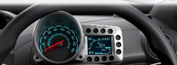 Chevrolet Beat dashboard