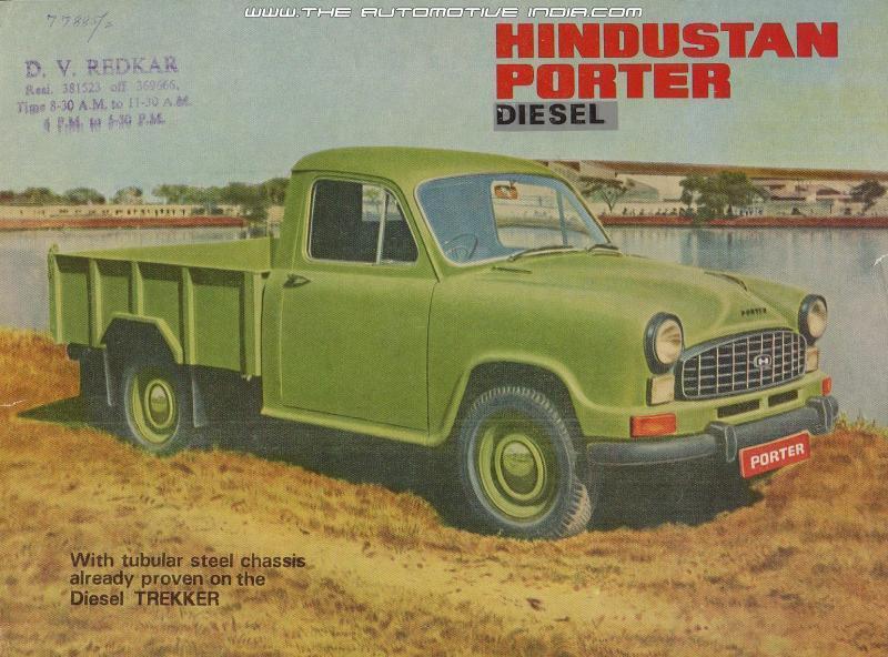 Hindustan Porter Diesel