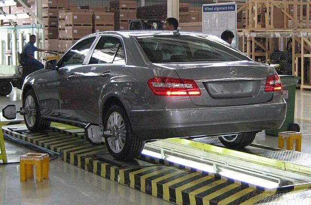 Mercedes Benz E-Class Pune Plant
