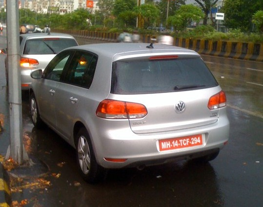 VW Golf India spied Pune