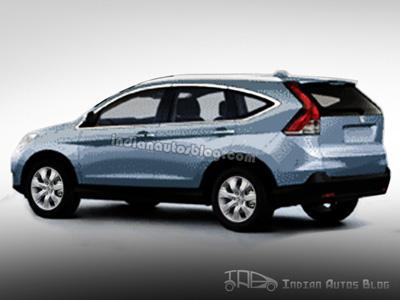 2012 Honda CR-V rear
