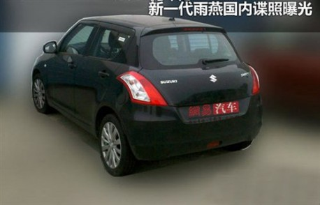 New Suzuki Swift China