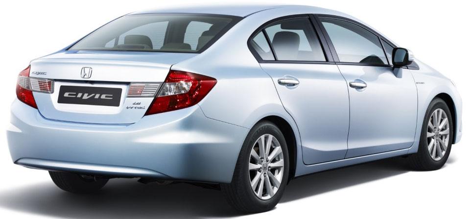 2012 Honda Civic Studio shot rear