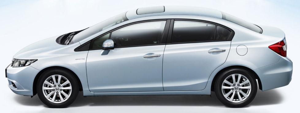 2012 Honda Civic Studio shot side