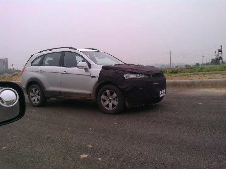 Chevrolet Captiva Facelift India