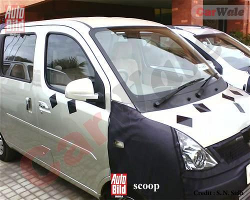 GM Wuling HongTu spied