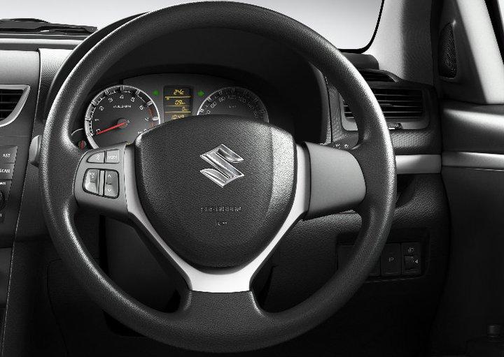 Maruti Suzuki Swift steering wheel