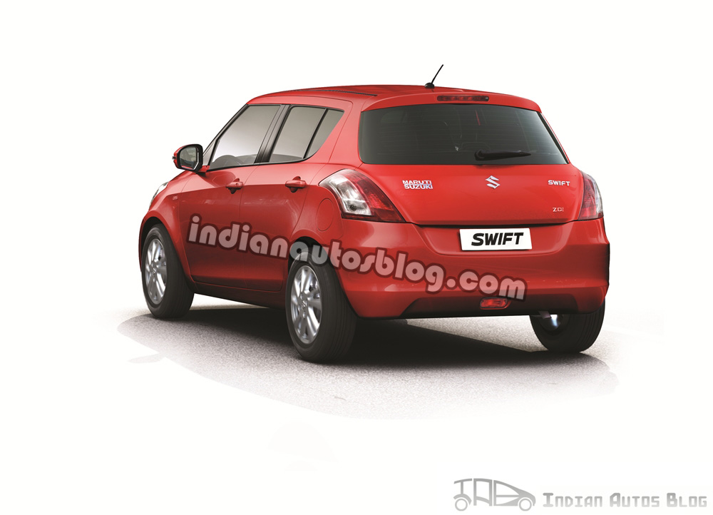 New Swift red back