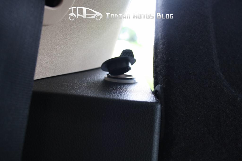 Tata Vista facelift rear power socket