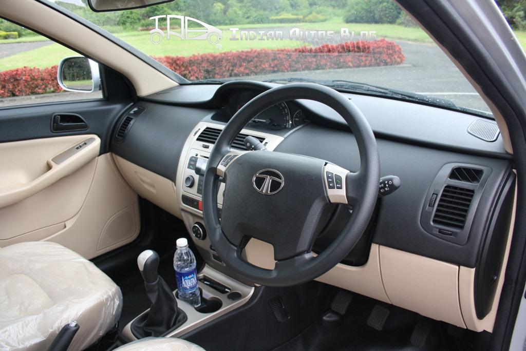 Tata Vista facelift interiors
