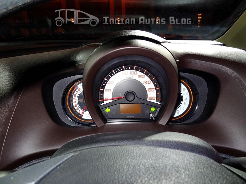 Honda Brio speedometer