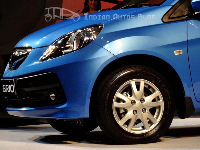 Honda Brio blue
