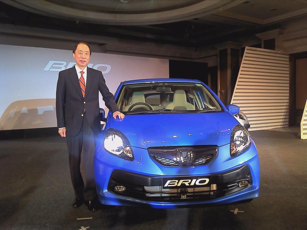 Honda Brio Mr Takashi Nagai Mumbai