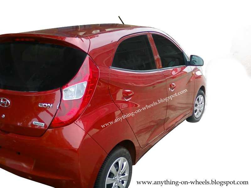 Hyundai Eon rear right