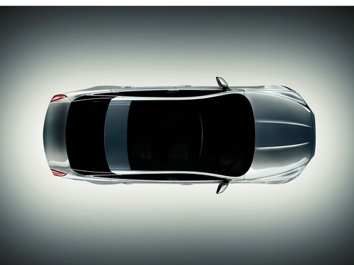 Jaguar XJ top view