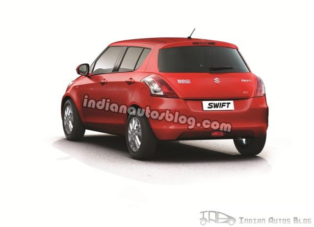 New Maruti Suzuki Swift rear