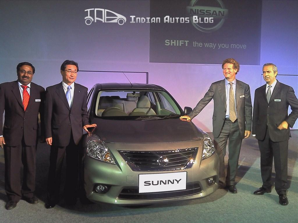 Nissan Sunny Mumbai Launch
