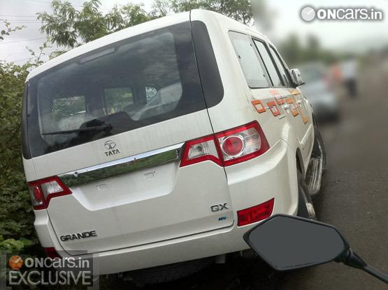Tata Grande rear