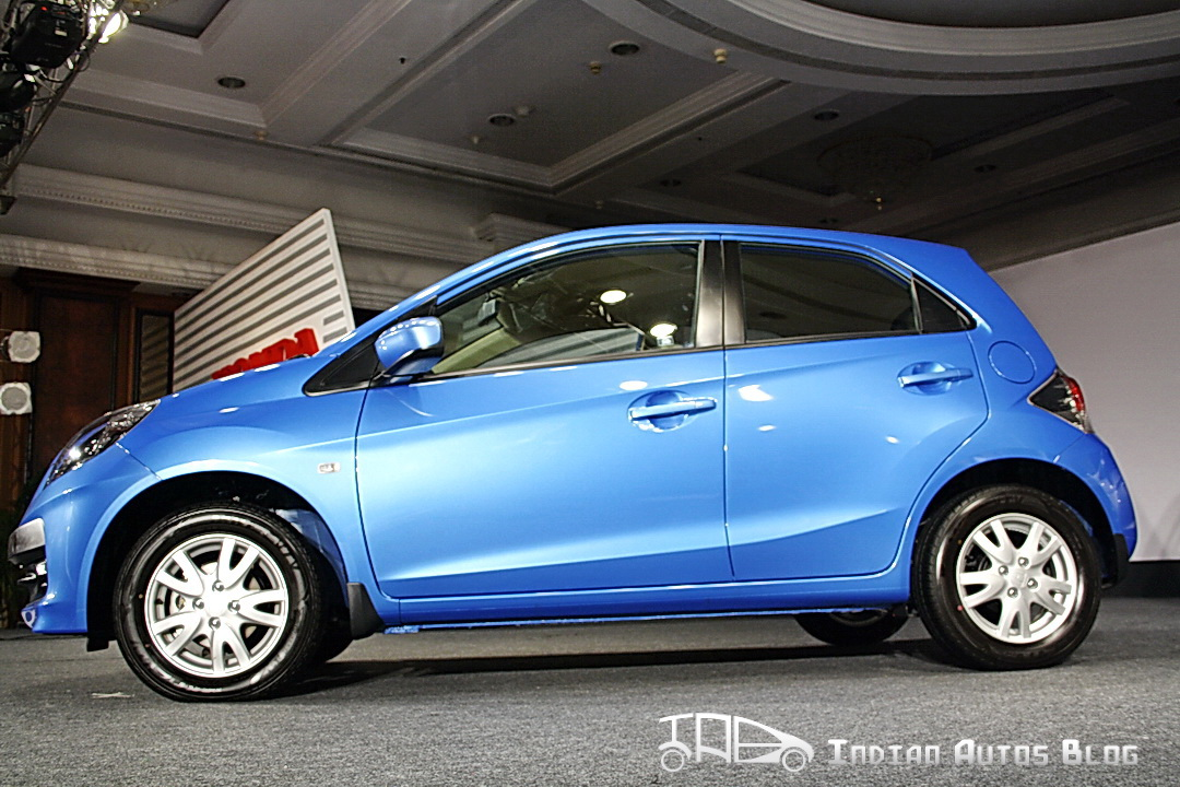 Honda Brio side